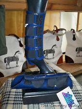 NWT TOKLAT ORIGINALS NEOPRENE Horse Splint Boots NAVY Sz SMALL