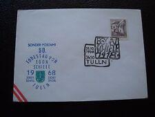 AUTRICHE - enveloppe 31/10/1968 (B7) austria