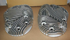 "Indian Chief 74"" Cylinder Heads cast aluminum, brass inserts New (822)"