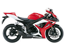 SUZUKI TOUCH UP PAINT KIT GSXR600K7 RED & WHITE.