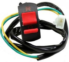 On/Off Switch (Kill Switch) w/2-wire plug for Dirt bikes, ATV, 7/8 in handlebar