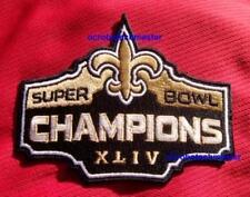 New Orleans Saints Super Bowl XLIV 44 Champions Patch