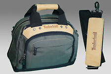 TIMBERLAND T20 HANDBAG Shoulder Bag Boarding bag Olive Green AUTHENTIC