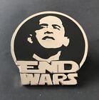 Obama End War Usa United States Patriotic Belt Buckle Sale Boucle de Ceinture