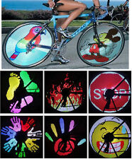 LED Programmable DIY Cool Pictures Bicycle Bike Spoke Flash Tyre Wheel Lights