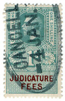 (I.B) George V Revenue : Judicature Fees 1/-