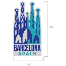 Barcelona Spain Travel STICKER - Sagrada Familia