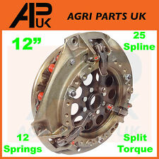 MASSEY Ferguson CLUTCH ASSEMBLY 185,188,285,290,590,690 TRATTORE SPLIT COPPIA 12 ""