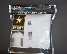 US ARMY 3 CREW NECKS T-SHIRTS ( PACK OF 3 T-SHIRTS) SIZE   X-LARGE 100% COTTON
