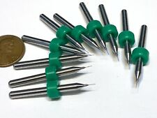 10 Pieces .15mm Micro Drill Bits 3D Printer Nozzle Cleaning PCB kit Extruder A23
