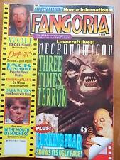 Ennio Morricone,  Al Adamson, Gregory Walcott - FANGORIA Magazine 1994