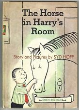Vintage Children's Book ~ THE HORSE IN HARRY'S ROOM ~ Syd Hoff