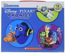 disney learning pixar phonics reading adventures program 12 books boxed set