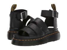 Para mujeres Zapatos Dr. Martens Sandalia de plataforma de Cuero de cuatro Clarissa II 24476001 Negro