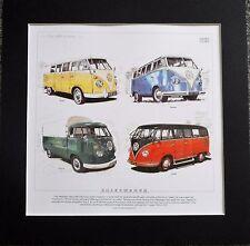 91.5cm x 61cm VW Kombi Split screen camper maxi poster BEETLE
