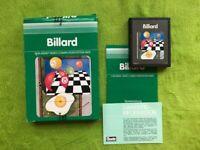 Atari 2600 - Billard (komplett)