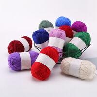 New Glitter Swirl Silver Yarn Wool Crochet Knitting Cotton Thread