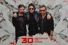 30 SECONDS TO MARS - A3 Poster (ca. 42 x 28 cm) - Jared Leto Clippings Sammlung