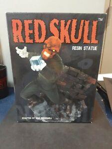 Red Skull Resin Statue Marvel Diamond Select Captain America 2001 Amricons