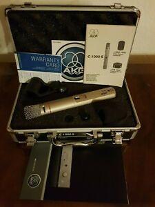 MikrofonVintage Austria AKG C1000S Mikrofon orig. Case mit komplettem Zubehör