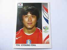 Sticker PANINI Fifa World Cup GERMANY 2006 N°499 South Korea You Kyoung-Youl