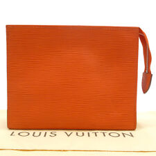 Auth LOUIS VUITTON Epi Poche Toilette 19 Cosmetic Bag Pimont M41084 #S203074