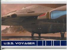 Star Trek Voyager Quotable USS Voyager Chase Card V7