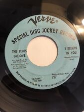 THE BLUES GROOVE ~ I BELIEVE IN YOU ~ VERVE RECORDS DJ PROMO ~ Northern Soul 45