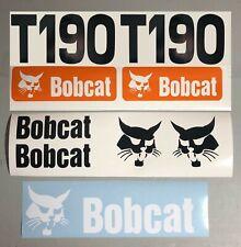 Bobcat T190 (SET OF 7) Skid Steer Replacement Aftermarket Vinyl Decal Sticker