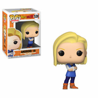 Funko Pop Animation 530 Dragonball Z 36403 Android 18