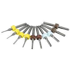 HOT Hartmetallfräser Set Platinenfräser Schaft PCB Corn End Mill Carbide 3.175mm