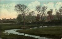 Round Lake NY Golf Links c1910 Postcard
