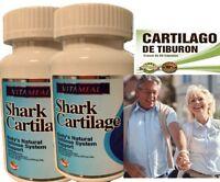 2 Cartilago De Tiburon Shark Cartilage Joint Relief Arthritis Body Defense Pills