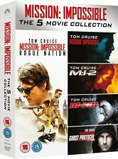 Mission Impossible 1 - 5  Dvd Boxset New/Sealed