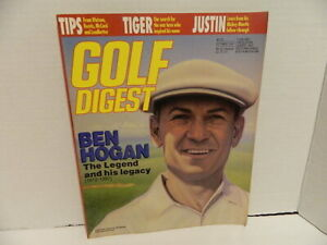 GOLF DIGEST MAGAZINE With Ben Hogan Oct. 1997- The Legend and his legacy