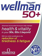 Vitabiotics Wellman 50+30 comprimidos