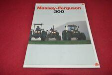 Massey Ferguson 360 375 383 390 398 399 Tractor Dealer's Brochure Gdsd7