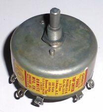 Commutateur rotatif 12 pos 15 ampères isol 115 V AC US NOS NIB Ohmite axe 6,3mm