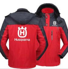 Newest Hot! Husqvarna Sports warm thickness leisure Men rain proof storm jacket