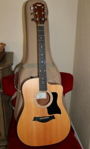 Taylor 110ce Sitka Spruce / Sapele Dreadnought with ES-T Electronics 2007 - 2015
