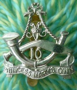 10th Princess Mary's Own Cap Badge CHROME Slider