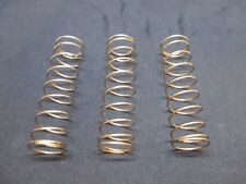 Set of 3, New Jupiter Sousaphone/Tuba Valve Piston Springs, Correct Tension, OEM