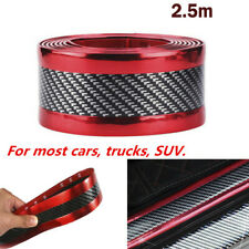 2.5M*5cm Carbon Fiber Style Car Scuff Plate Door Sill Sticker Panel Protector