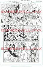 DC THE SHIELD #4 Page 19 Original Art By Cliff Richards