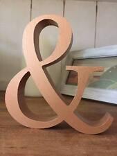 Cuivre 9 lettres, tout a-Z ou & SIGNE ou des chiffres, 13 cm grandes lettres