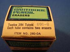 Lot Of 10 Tubes Of Parker Cartridge Eraser Refills 29 Each 260 Oa Vintage