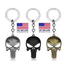 The Punisher Skull Skeleton Iraqi Soldier Army Keychain Key Ring Gift