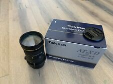 Tokina AT-X 840 D 80-400mm f/4.5-5.6 AF SD Lens For Canon