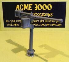 Britains 9786 US Army Jeep Reproduction Repro 2 Part Silver Plastic Machine Gun