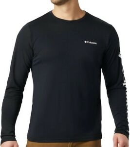 COLUMBIA Miller Valley AO0212010 Cotton Pullover T-Shirt Long-Sleeve Shirt Mens